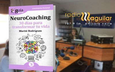 Marité Rodríguez, autora del GuíaBurros: Neurocoaching, en Radio Aguilar