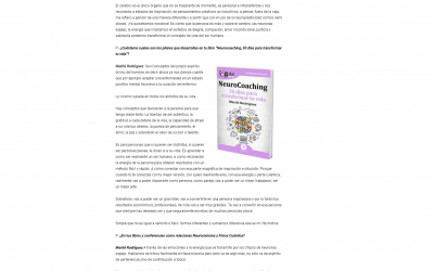 Marité Rodríguez, autora del GuíaBurros: Neurocoaching, entrevista para ICNDiario