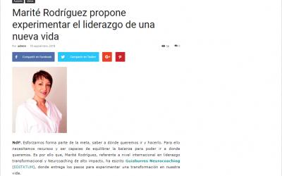 Casa de Letras escribe una reseña sobre el GuíaBurros: Neurocoaching, de Marité Rodríguez